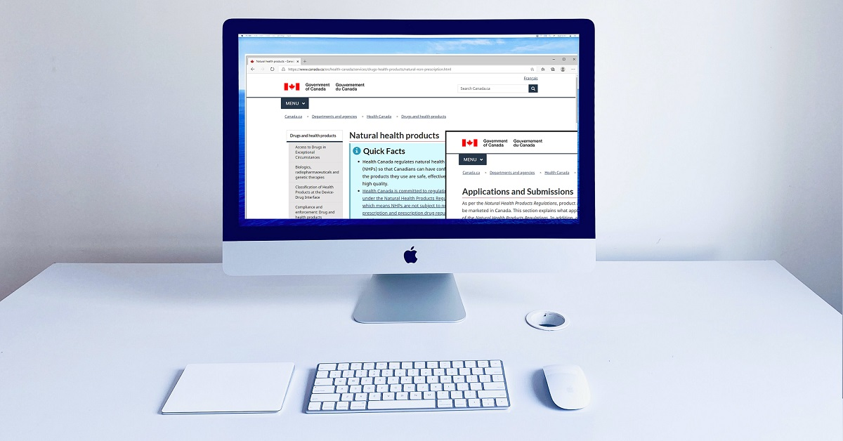 Health Canada NNHPD, Medical Device Site and product license